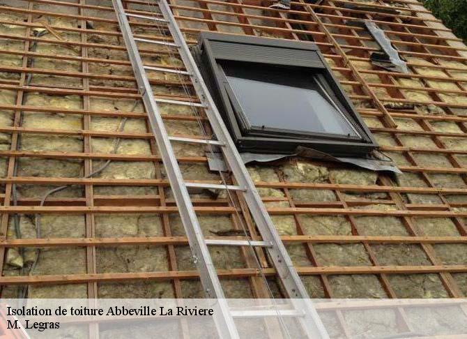 Isolation de toiture à Abbeville La Riviere tél: 01.85.53.55.79
