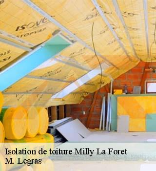 Isolation de toiture  milly-la-foret-91490 M. Legras