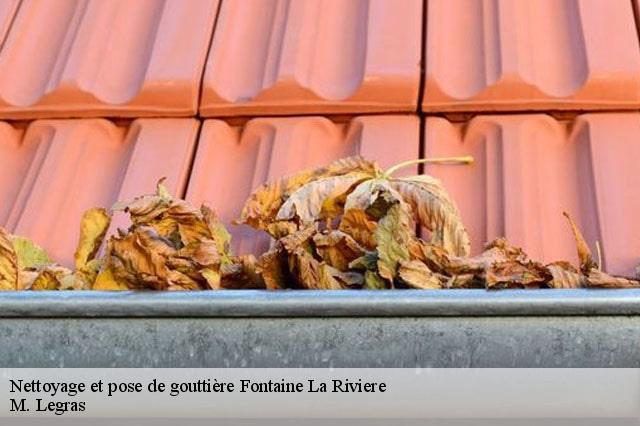 Pose Et Nettoyage De Gouttiere A Fontaine La Riviere Tel 01 84 35 51 34