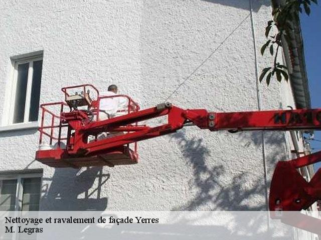 Ravalement Facade A Yerres Tel 01 84 35 51 34