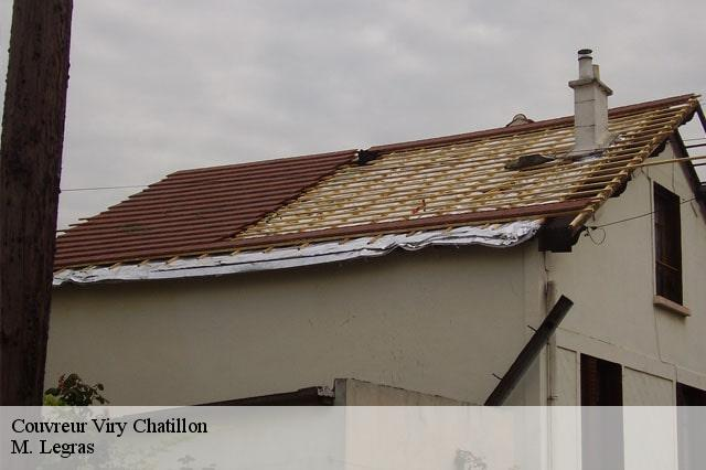 Couvreur  viry-chatillon-91170