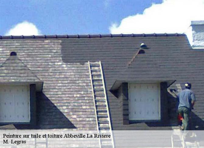 Peinture sur tuile à Abbeville La Riviere tél: 01.85.53.55.79